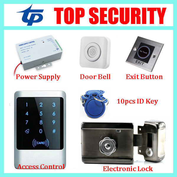 Good quality full ip65 waterproof touch keypad door access control system standalone one door access controller