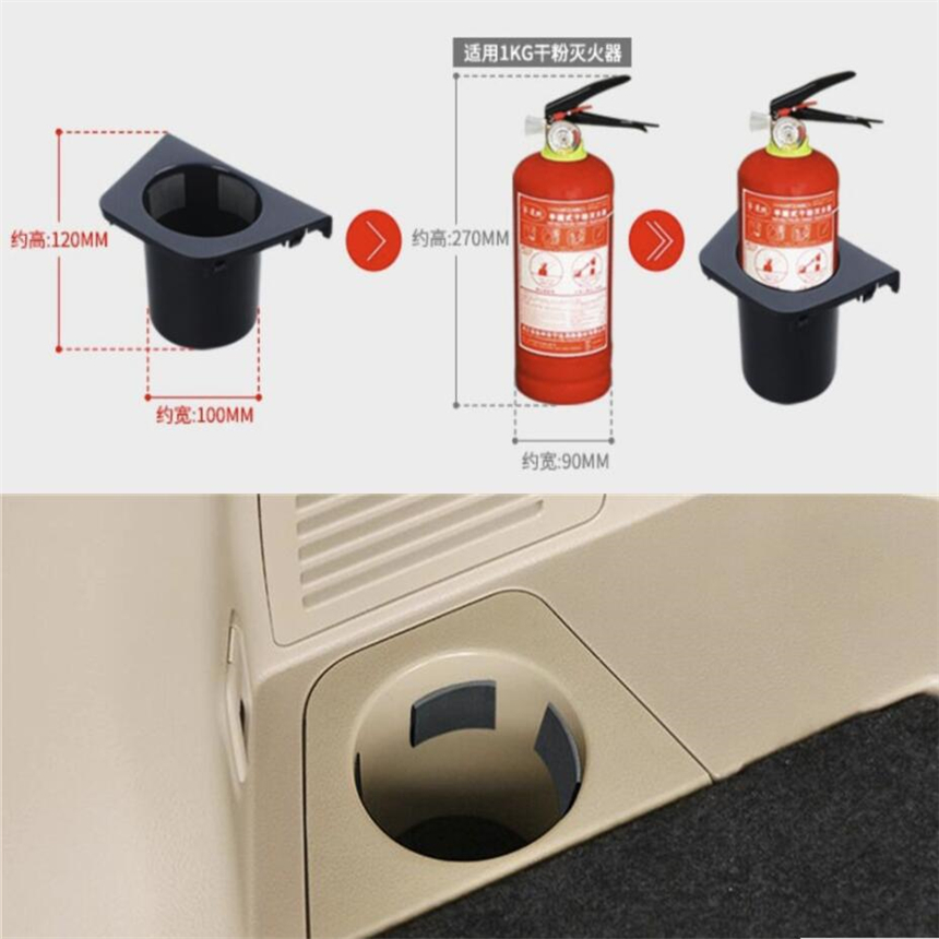 Lapetus For Nissan X-Trail X Trail T32 Rogue 5 Seat Model 2017 2018 Car Styling Fire Extinguisher Cup Holder Frame Cover Trim цена