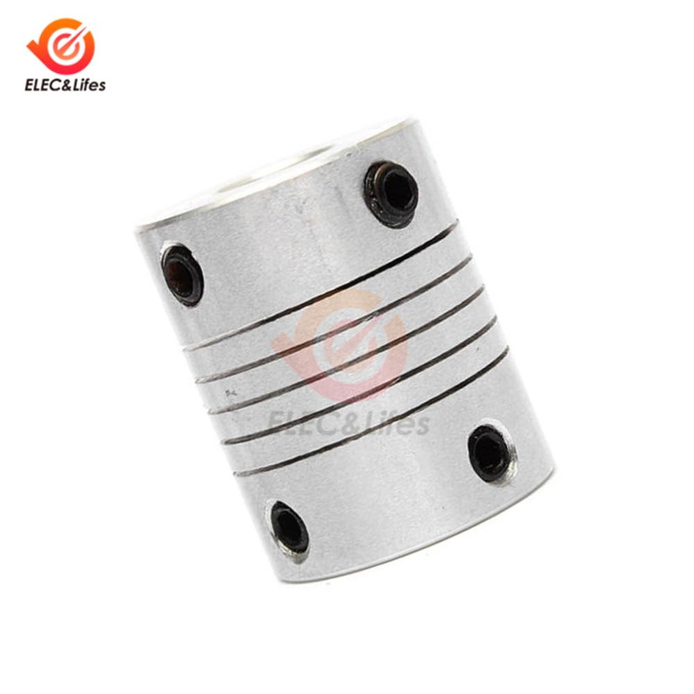 Coupleur daxe de m/âchoire de moteur 5x8 mm 5mm /à 8mm flexible Couplage OD 19x25mm
