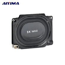 45422089e 2Pcs SK Speaker Bass Vibration Membrane Loudspeakers Diaphragm Rubber Edge  Metal Plate Speaker 53 43MM