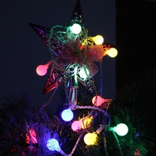 10M 100LED Ball Fairy String Light Wedding Christmas Party Patio Decoration Lamp
