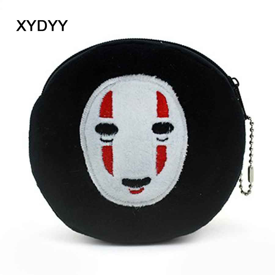 XYDYY New Halloween Funny Face Coin Purse Cute Kids Cartoon Wallet Kawaii Coin Pouch Children Purse Holder Women Coin Wallet
