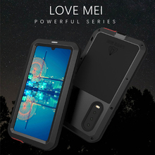 LOVEMEI Powerful Metal Waterproof Case For Huawei P30 P30 Pro Cover Full Body Protection Armor ShockProof Defender Phone Case