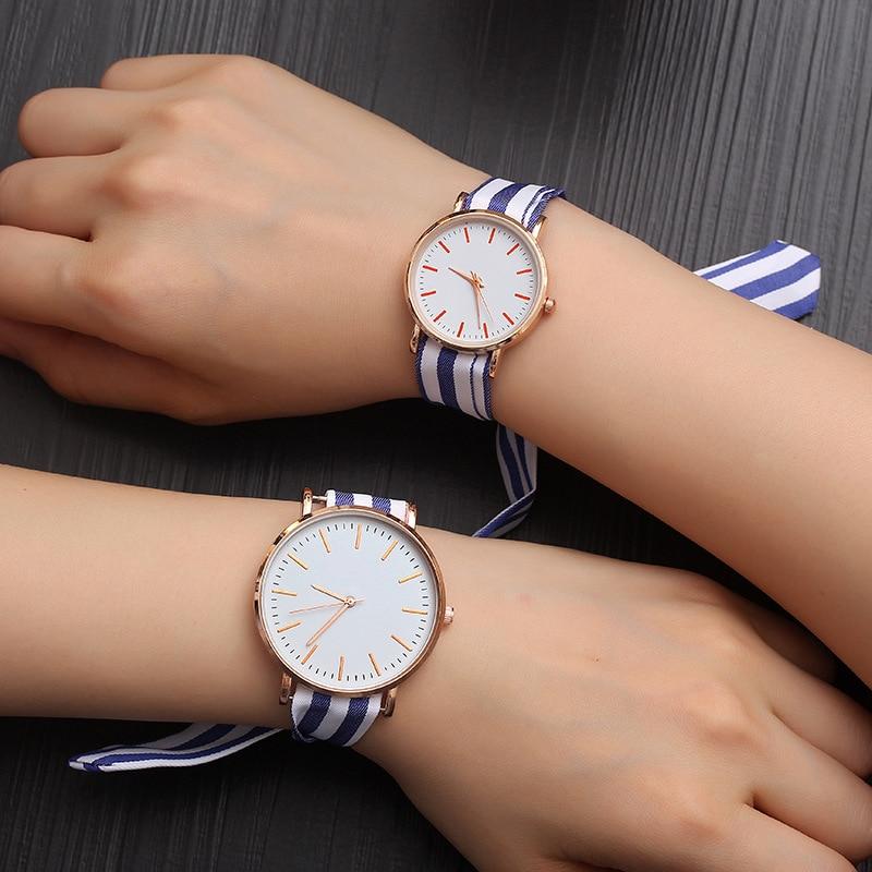 JBRL Women Watch Simple Scarf Stripe Wrist Watch Female Ladies Quartz Watch Wrist Clock Gift For Girls Dress Montre Femme 2019