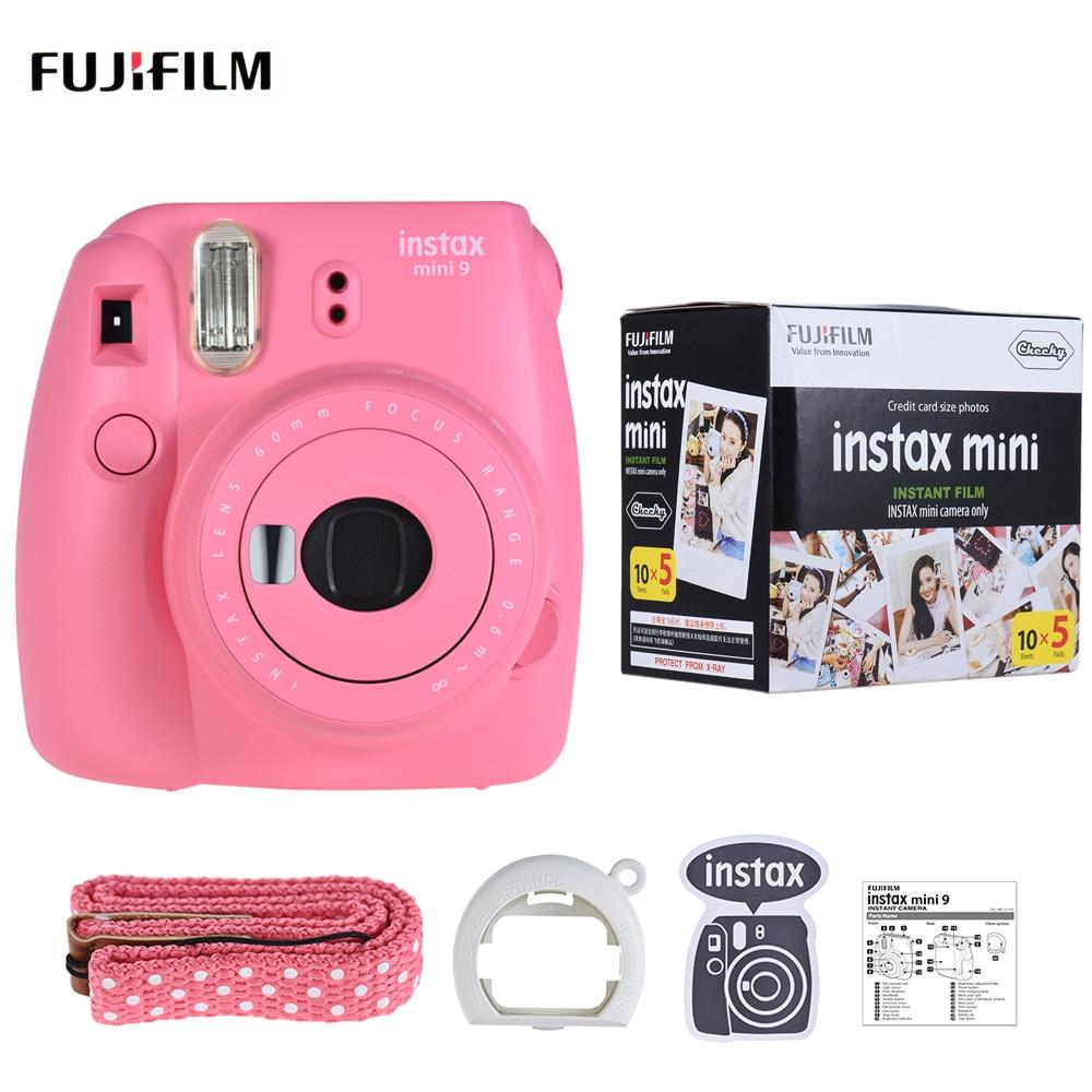 Fujifilm Instax Wide 300 Gratis Paper 20 Lembar Film Monochrome Single Mini 9 Kamera Instan Cam Dengan Selfie Cermin 50 Foto