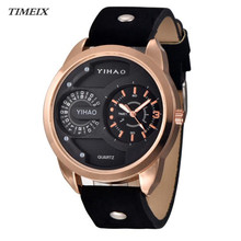 Luxury Men's Watch 2017 Fashion Sport Waterproof Digital Analog Quartz Wrist Watch Free Shipping,Nov 30