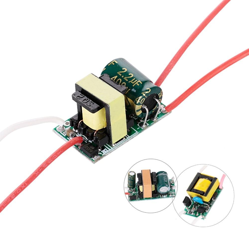 цена на LED Current Driver Input AC90-265V Power Supply 200mA 300mA 3W 4W 5W 7W Lighting Transformer for DIY LED Lamps
