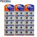 30 Pcs 3 Cartões de Moedas Para O Relógio 0% Mercury AG7 G7 Bateria 1.5 V LR927 LR57 195 927 399 395 Baterias botão