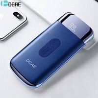 DCAE Wireless Power Bank 10000mAh for Xiaomi Huawei Portable External Battery 2 USB Powerbank for iphone 8 X XS XR Samsung S9 S8