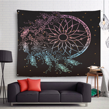 Wall Hanging Tapestry 3D Printed Hanging Wall Tapestries Mandala Bohemian Tapestry Landscape Wallpaper Wall Art Shawl 150*130 happy easter letters printed tapestry wall art