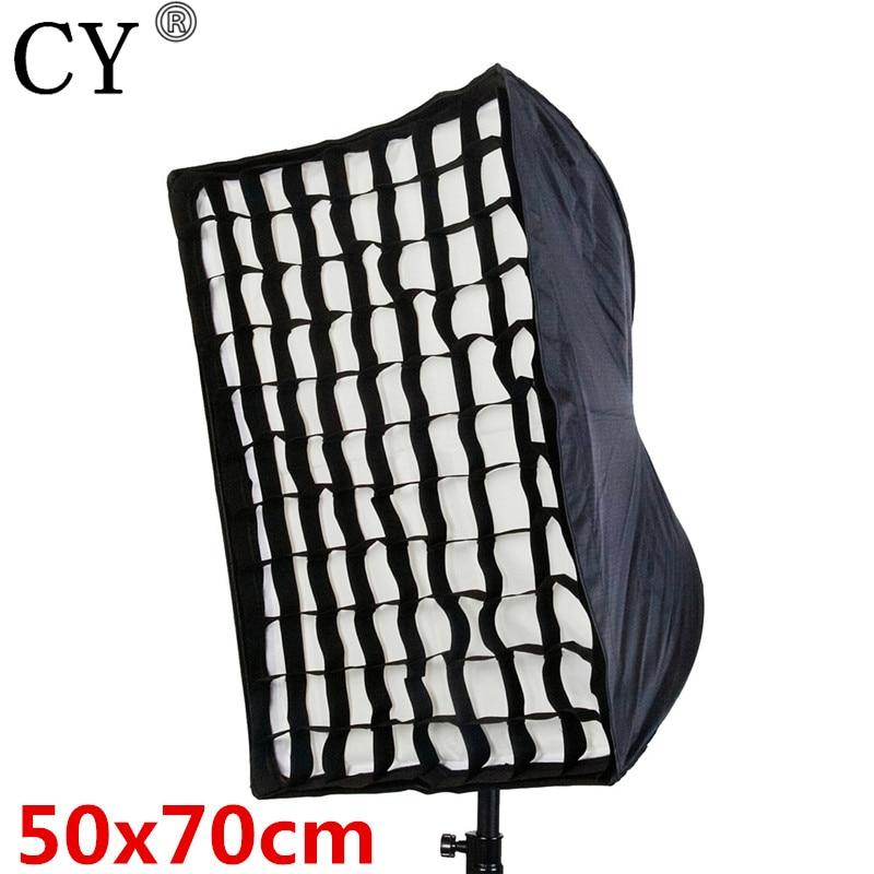 Wholesale Umbrella Softbox With Grid Brolly Reflector for Flash Speedlite 50cm x 70cm/20 x 28 12pcs/lot High Quality