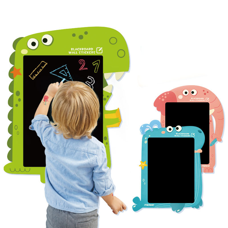Cartoon Animals Kawaii Magnetic Blackboard Sticks Wall Kids Toys Drawing Game Board Set DIY Art Toy Educational Toys for Baby