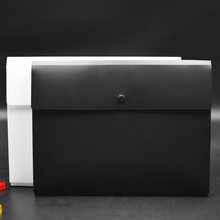 Купить с кэшбэком The new listing 20PC Simple Solid A4 Big Capacity Document Bag Business Briefcase File Folders Filing Products Student Gift