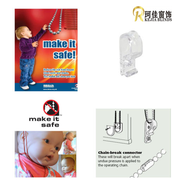 Us 5 99 5pc Child Safety Blinds Hook Clip For Zebra Vertical Roman Roller Blind In Curtain Decorative Accessories From Home Garden On