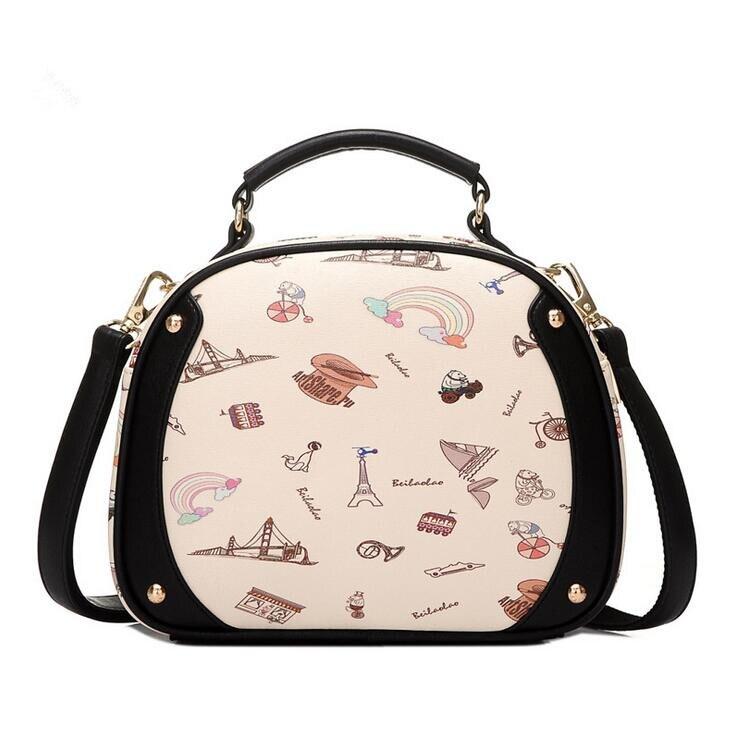 a068ea28ce83 Сумка STACY 082016 Лидер продаж женские небольшой лоскут мешок женский  мультфильм сумка