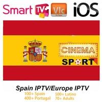 Spain IPTV 6000+ Live Spanish iptv m3u subcription UK Italy Spanish france Portugal for Android Box Smart TV PC