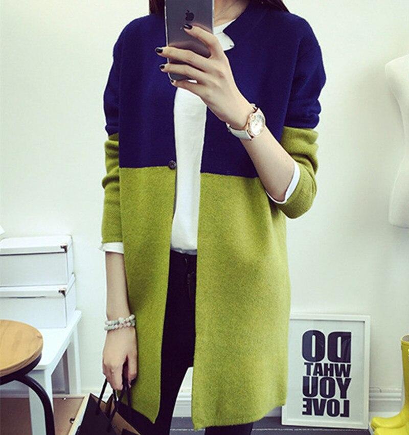 Women 2018 Spring Autumn Winter Jacket Coat Long Sleeve Slim Crochet Knit Women Sweater Cardigan Winter Tops SW424 1