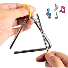 BOHS Metal Triangle Trumpet Early Learning Orff Percussion Instruments to Sense Development Aids