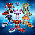 8pcs transformation mini robot tobot brothers series toys,children's gift action figure Cartoon characters mini toys 8style