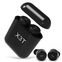 True Wireless TWS X3T Earbuds Mini Bluetooth Upgrade X2T X1T In Ear Earphone 700mAH Charge Box