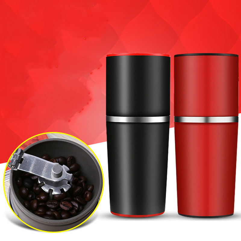 Manual Coffee Maker Coffee Grinders Portable Espresso Machine Coffee Pressing Bottle Pot Coffee Tool for Outdoor Travel Use ewold manual coffee maker hand pressure portable espresso machine coffee pressing bottle pot coffee tool for outdoor travel use