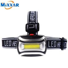 ZK20 600LM Headlamp High Quality LED Headlight Mini Plastic Head Light Lamp Flashlight 3aaa Torch For Camping Hiking Fishing