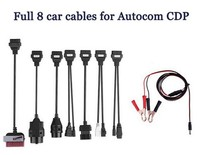 Full 8 PCS Per Set Car Cable For Delphis VD TCS 150e CDP Pro Plus Car Cable Connectors Diagnostic Cable