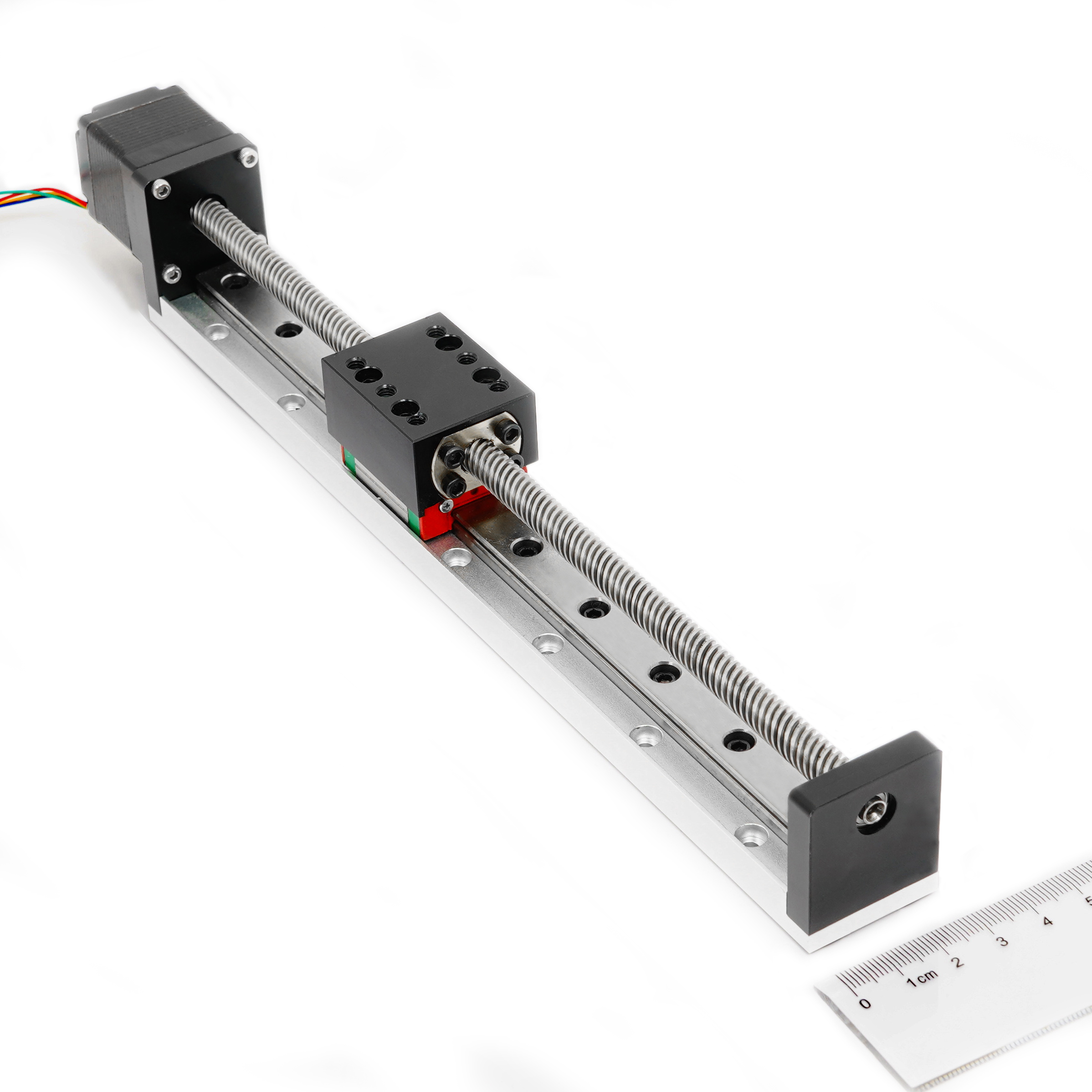 Good quality 30mm guide width miniature linear guide system 100mm length customizedGood quality 30mm guide width miniature linear guide system 100mm length customized