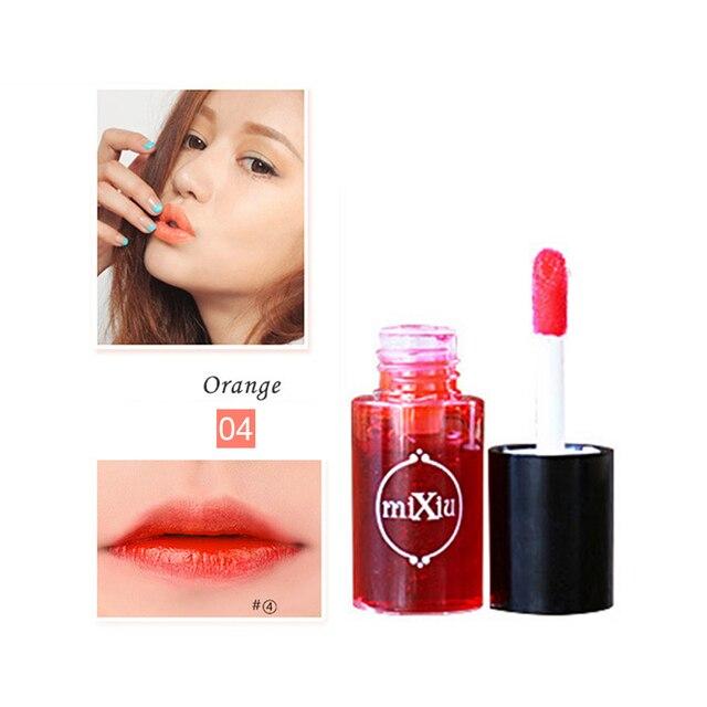 Mixiu Makeup Waterproof Multifunction Lipgloss Tint Dyeing Liquid Lipgloss Blusher Long Lasting Makeup Cosmetics Maquillaj TSLM1