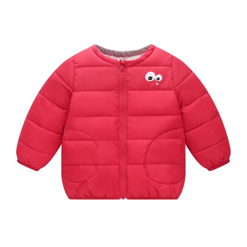 2018 New Boy Down Jacket Outerwear Girls Winter Jacket