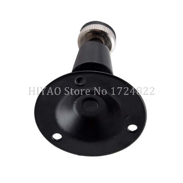 Image 2 - Freeshipping Mini Black Wall Mount or Bracket For CCTV Camera mount Accessories-in CCTV Accessories from Security & Protection