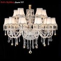 Crystal Modern Chandelier Lights Bedroom Living room chandeliers Crystal Lusters de cristal Chandelier Lighting Crystal Fixture