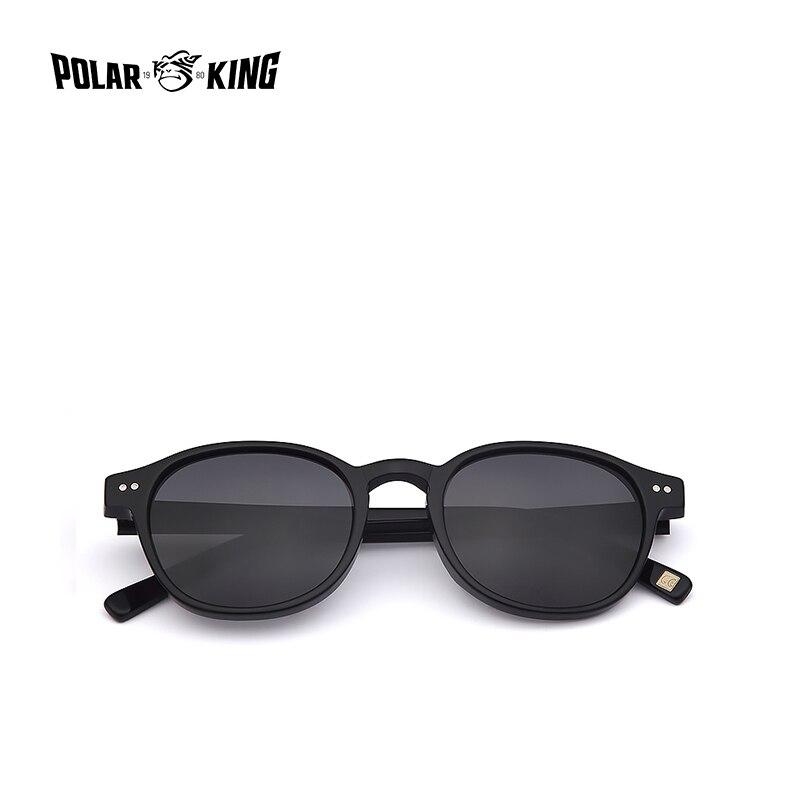 Image 5 - POLARKING Brand Vintage Designer Polarized Sunglasses For Men Traveling Unisex Acetate Round Sun Glasses Driving Eyewear Oculosbrand polarized sunglassespolarized sunglassespolarized sunglasses brand -