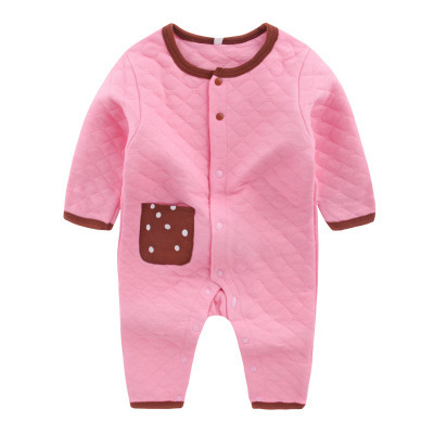 environmental pure color, childrens clothing wholesale clothing climb clothes jumpsuit Qiu dong is sell like hot cakes