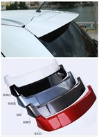 high quality ABS Paint Car Rear Wing Trunk Lip Spoilers Fits For Mitsubishi Outlander 2016 2017 2018 car Accessories