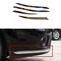 Car Styling Front Bumper Trim Rear Bumper Cover Trim For Dodge Journey Jcuv Fiat Freemont 2014