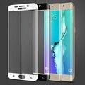 Для Samsung S 6 Edge S6 edge plus Полное Покрытие Стекла закаленное Фильм Протектор Экрана для Samsung Galaxy S6 Edge G9250 Color синий