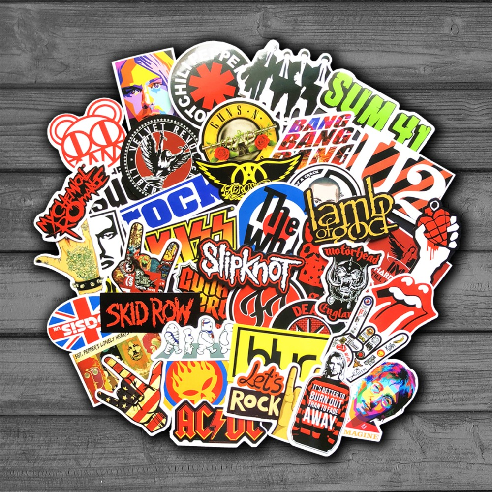 truck mirror SLIPKNOT Band Rock Music vinyl decal window car laptop sticker