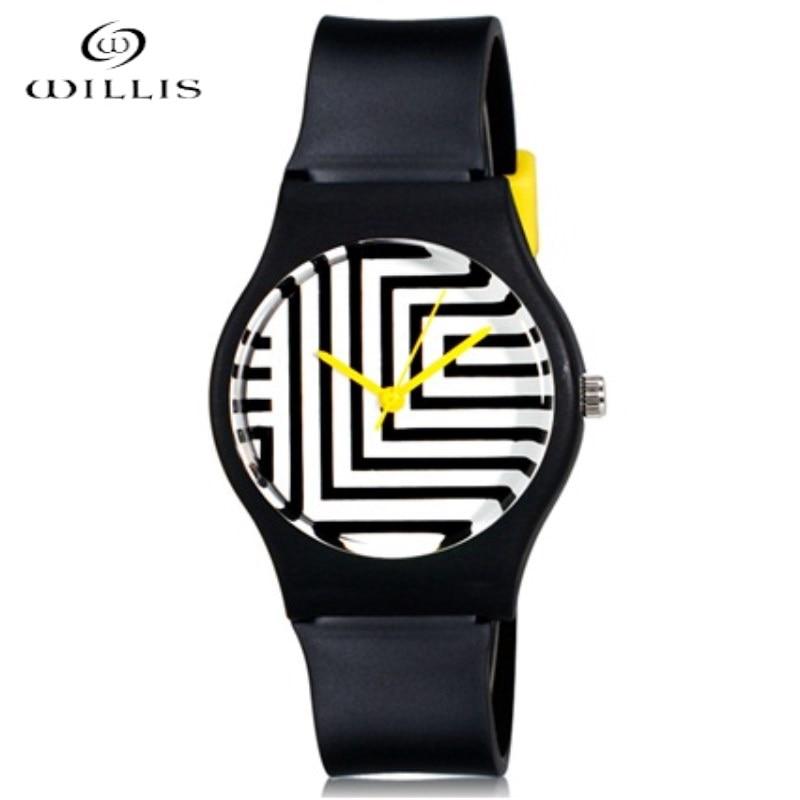 все цены на Willis Brand Watch Women Watches Mini Quartz Maze Fashionable Leisure Girls Watches Zebra Pattern Analog waterproof WristWatch онлайн