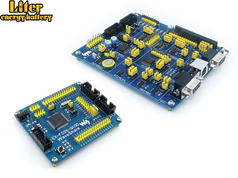 C8051F Series C8051F020 8051 Evaluation Development Board Kit + DVK501 System Tools =EX-F02x-Q100 Premium