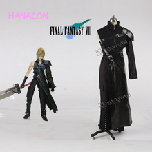 Game Final Fantasy VII Cosplay Costume Cloud Strife Costume Cosplay Combate Uniform Outfit Halloween Game Cosplay Custom-made