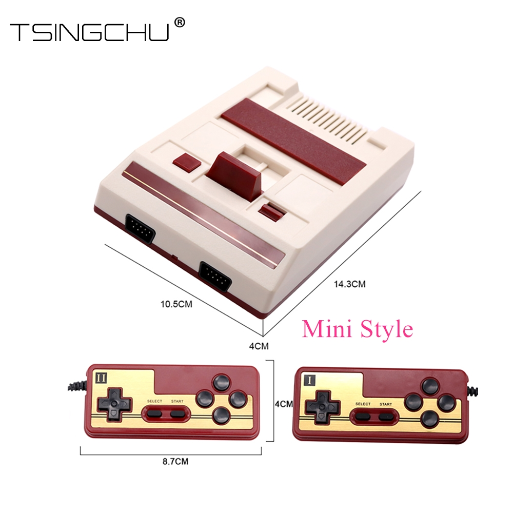 TSINGO HDMI Output Family TV Video Game Player Built In 600 Classic Games 8Bit Dual Controller
