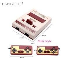 TSINGO HDMI Çıkışı Aile TV video oyunu Çalar Dahili 600 Klasik Oyunlar 8Bit Çift Denetleyici Mini TV video oyunu Sistemi Konsolu