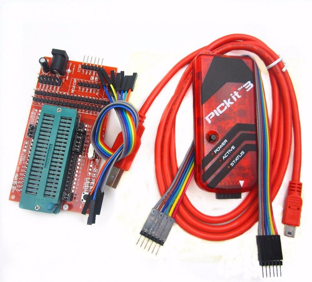pickit3 Programming / emulator + PIC microcontroller / minimum system board / development board / universal programmer seat programming scala scalability functional programming objects