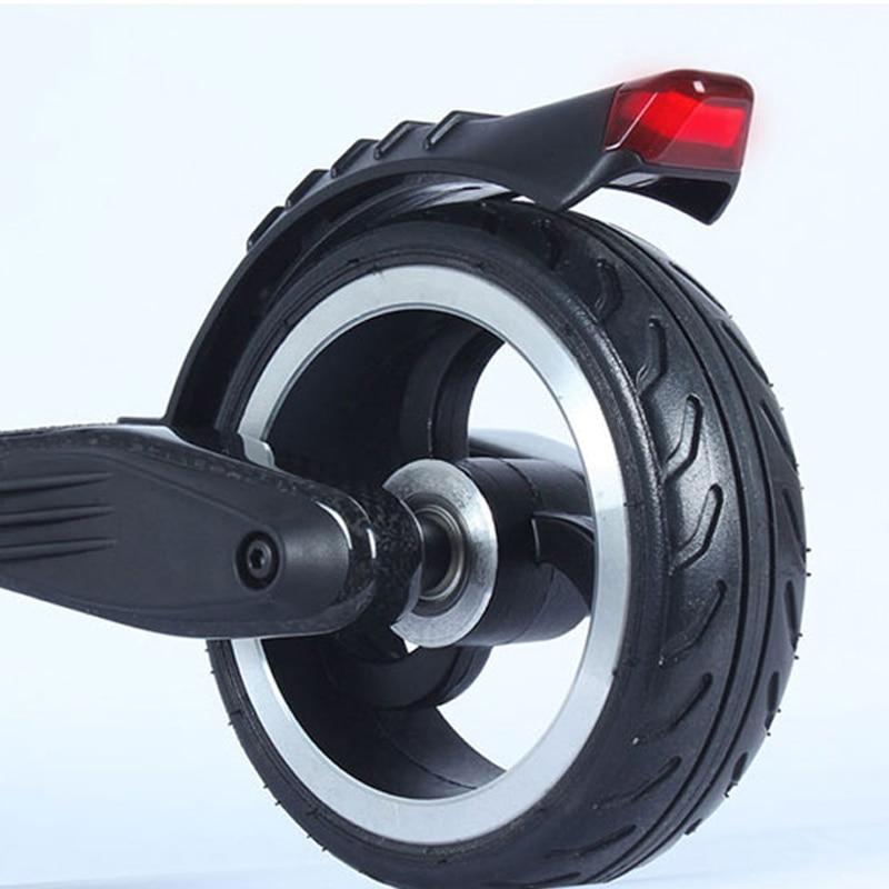 Carbon Fiber JACK HOT JASION Electric Scooter Rear Wheel Bracket Saddle Rack Brake Fender Rear Shelves Frame With Safe Light