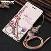 Leather Cases for Huawei Honor 6A Case Flip Leather Wallet Card Cover 5.0 inch Full Protection Cute Mobile Phone Case Back Cover