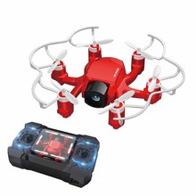 Drone véhicule à quatre axes avion intégral à Six axes accélérateur gauche et droite double Mode avec caméra