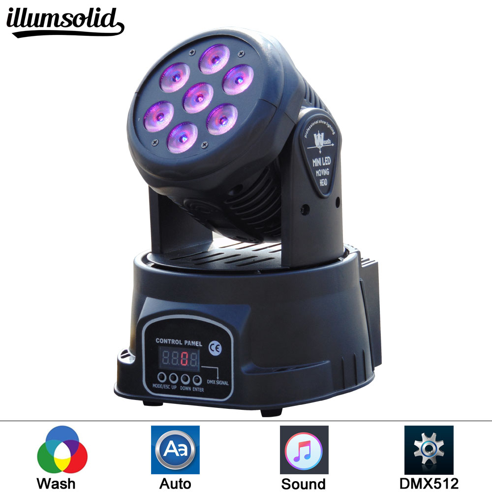 7X12W wash 4In1 RGBW LED Moving Head Light,DMX 512 14CH Stage Party DJ PAR Lighting for Indoor Club Party Show7X12W wash 4In1 RGBW LED Moving Head Light,DMX 512 14CH Stage Party DJ PAR Lighting for Indoor Club Party Show
