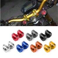 For Kawasaki Yamaha KTM Honda Universal Motorcycle CNC Aluminum Alloy 28 5mm Fat Handle Bar Handlebar