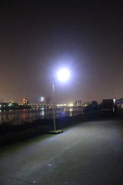 Solar Street Lamp Super Bright Outdoor Light Can Courtyard Rural Village